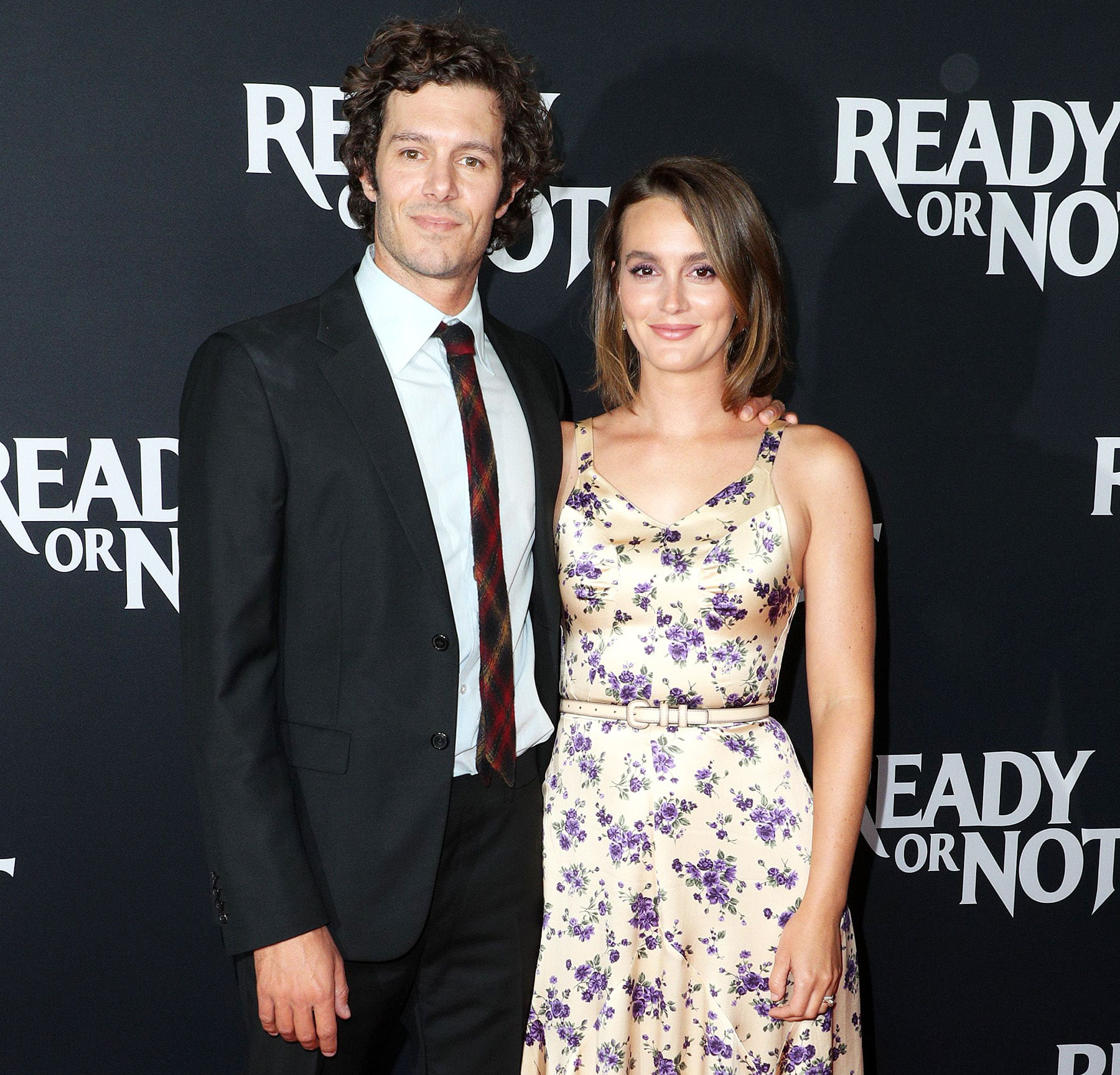 Leighton Meester Daughter Reacts to Her and Adam Brody Working Together