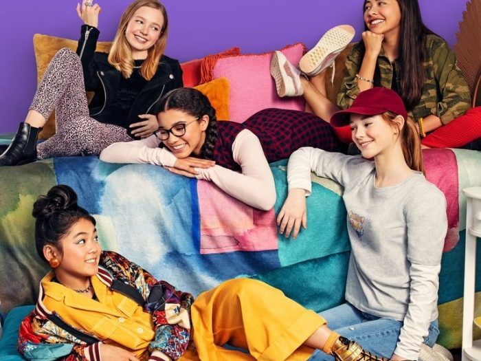 baby-sitters club poster on netflix