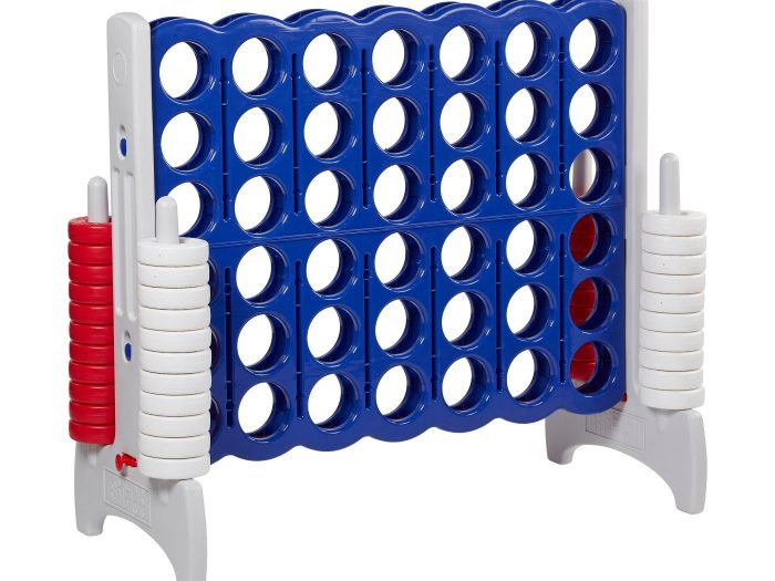 best summer lawn games connect four