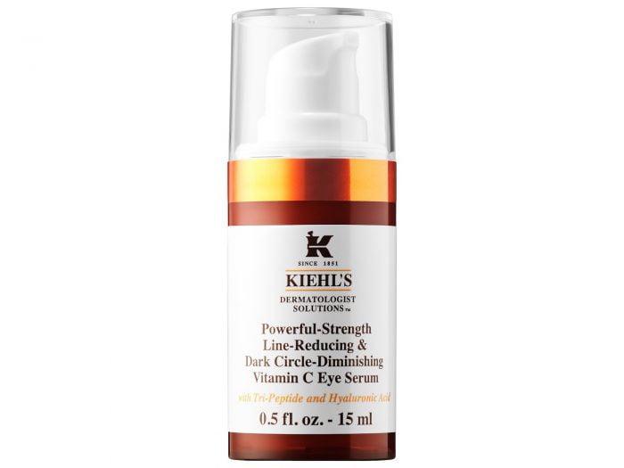 crying skin Kiehl's vitamin c