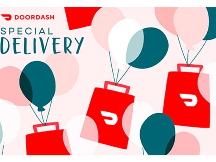 door dash gift card, gifts for teachers