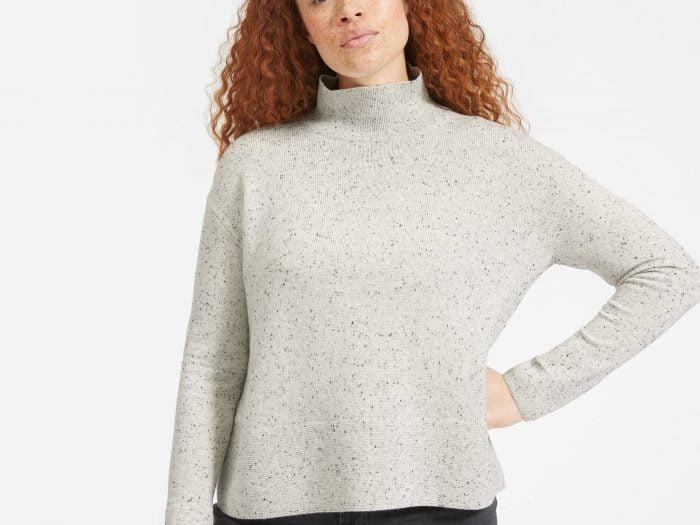 everlane sale turtleneck sweater