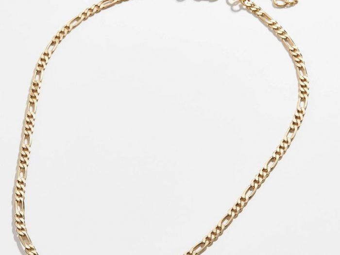 Connell Normal People chain necklace, BaubleBar Figaro link necklace