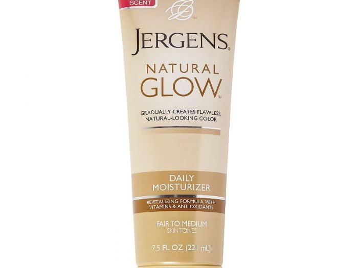 jergens natural glow moisturizer, best self tanner for fair skin