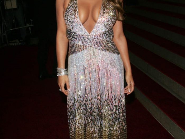 jessica simpson 2007 met gala dress