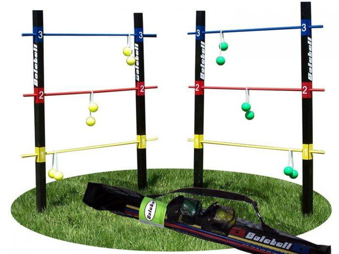 summer lawn games wafer ladder balls