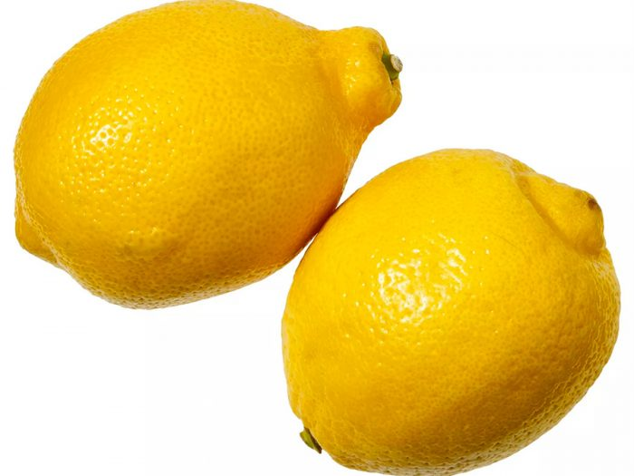 lemons, hair detox