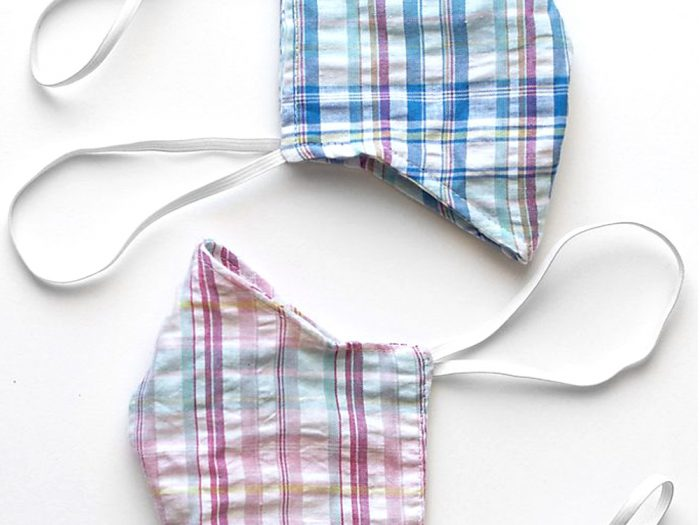 Anthropologie cloth face mask