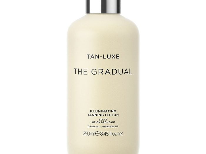 tan luxe the gradual tanning lotion, best self tanner for fair skin