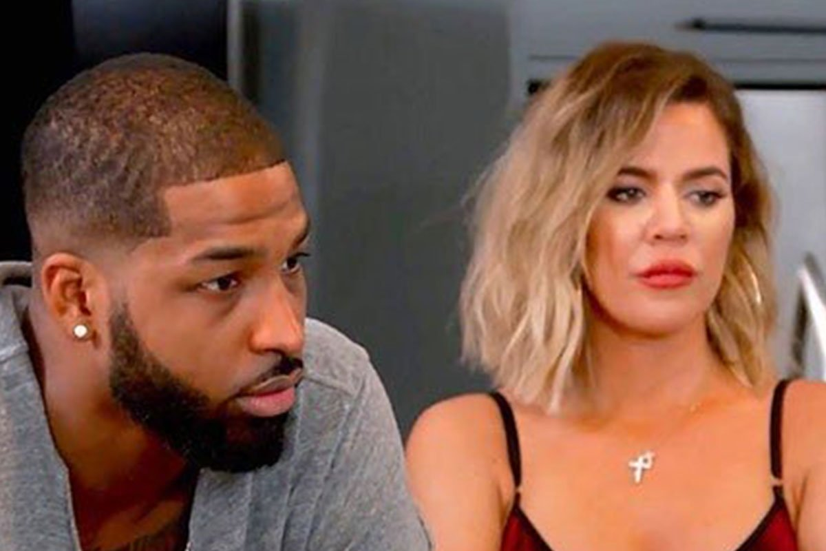 Tristan Thompson and Khloe Kardashian on Keeping Up With The Kardashians (KUWTK)