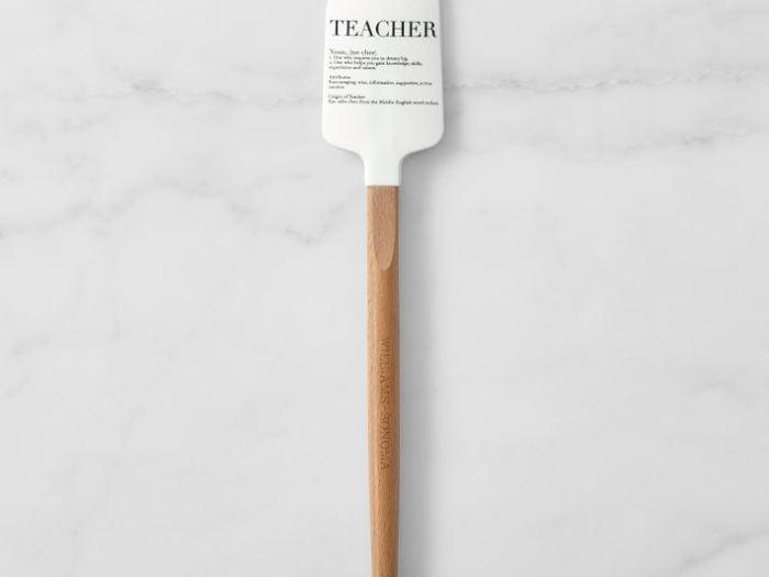 williams sonoma teacher spatula, gifts for teachers