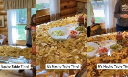'Nacho Tables' Are The Latest Viral Food Trend And Your Family Is Going To Love Them