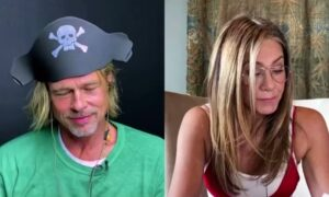 Brad Pitt And Jennifer Aniston Reunited For A Virtual Table Read And Fans Loved It