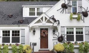 How To Make Giant DIY Spiders For Your House This Halloween