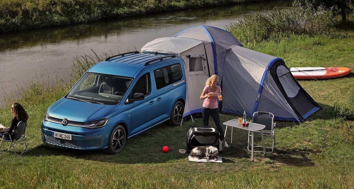 New Volkswagen Van Can Be Converted Into A Mini Motorhome