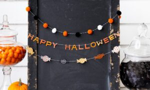 Crystal Jack-o'-lanterns Are The Chic Decoration You Need This Halloween