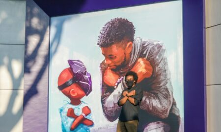 Disneyland Unveiled A Mural Honoring Chadwick Boseman's 'Black Panther' Legacy