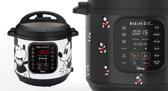 Disney Fans Will Love The Mickey Mouse Instant Pot