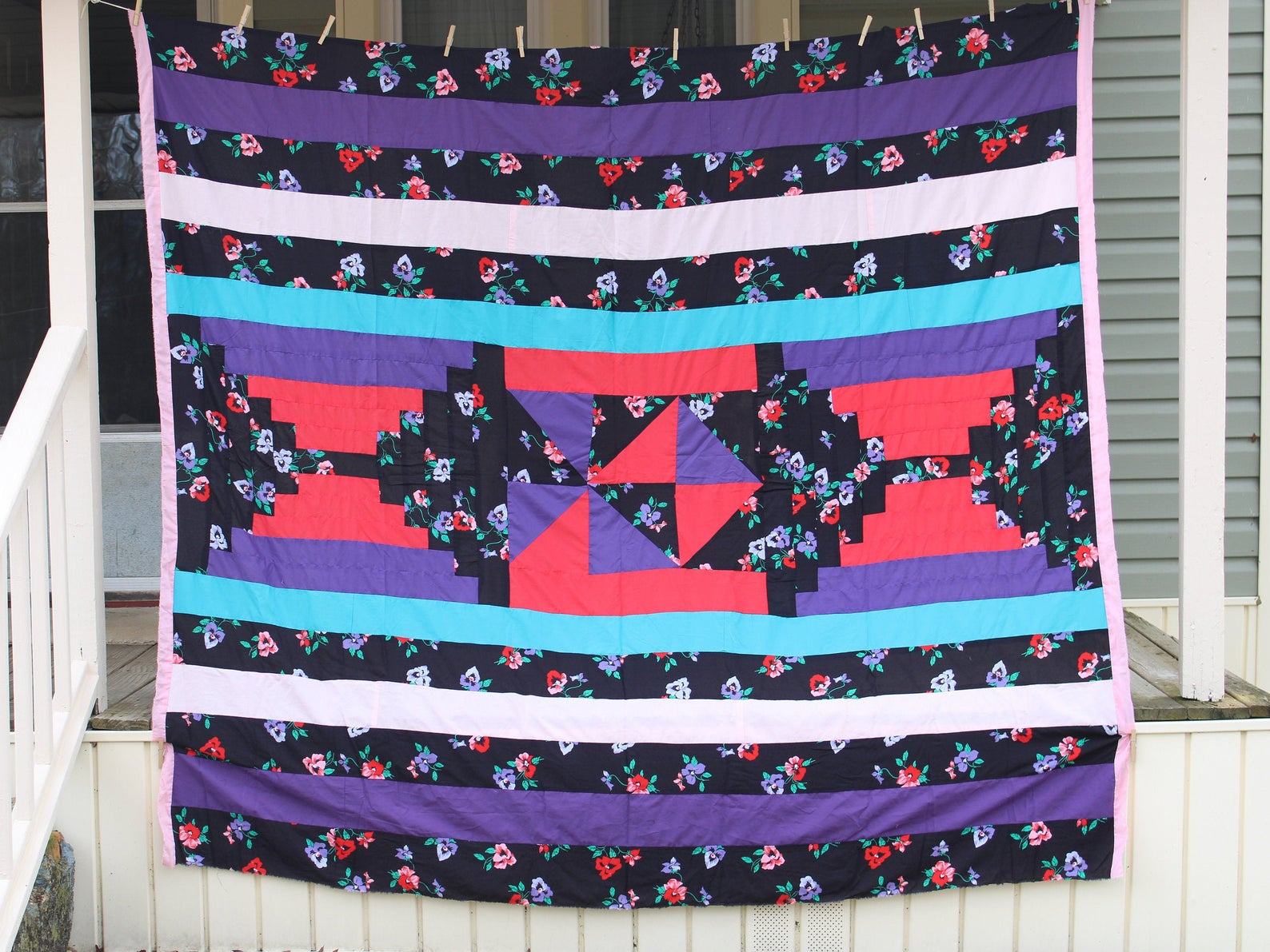 Gee's Bend quilt by Lue Ida