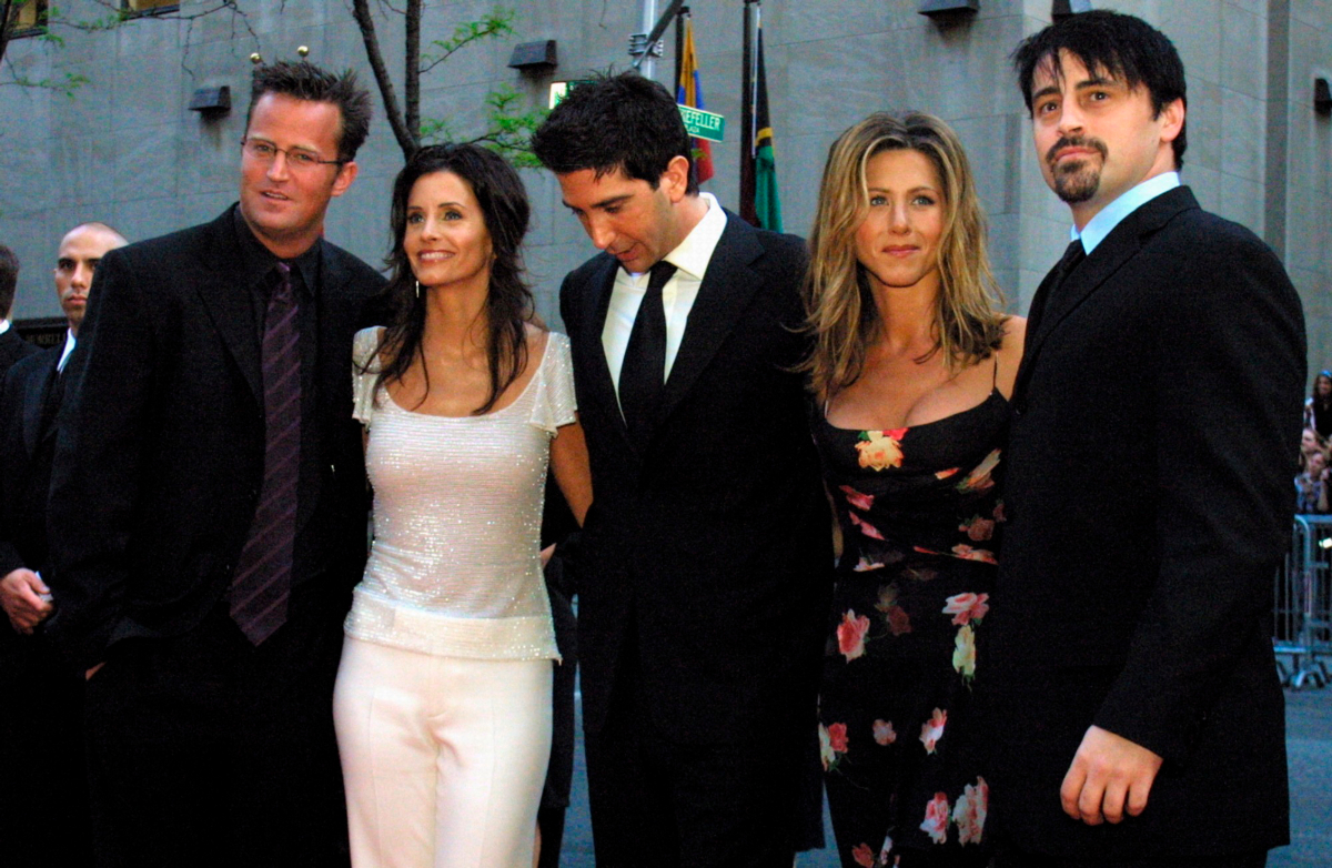 Friends cast to appear in reunion